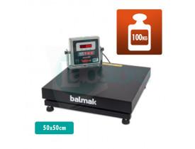 Balança Digital de Plataforma BK 100 - Cap. 100kg Div. 50g 50x50cm