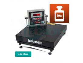 Balança Digital de Plataforma BK 40 - Cap. 50kg Div. 20g 40x40cm