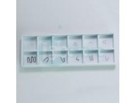 Peso Padrão M1 de 1 mg a 500mg - Formato Fio