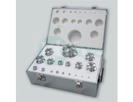 Conjunto Peso Padrão E1 - Estojo de Inox