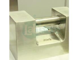 """Peso Padrão M1 de 5 a 20kg - Formato """"U"""" em Inox"""