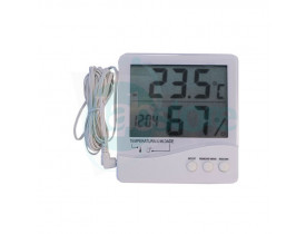 Termohigrômetro Digital Portátil com Temperatura Interna/Externa